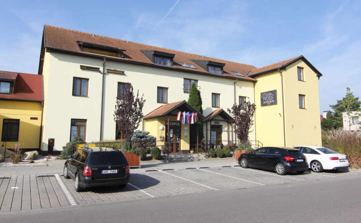 Budova Hotel Rose Břeclav